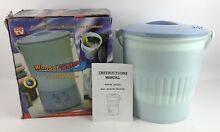 As Seen On TV Wonder Washer   A Portable Mini Clothes Washing Machine