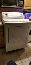 Gas clothes dryer 9 Cu  Feet