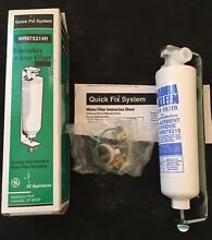 GE GENERAL ELECTRIC IN LINE REFRIGERATOR ICEMAKER FILTER WR97X214R