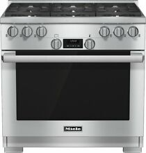 Miele DirectSelect Series HR1134G 36  Pro Style Gas Range 6 Sealed Burners