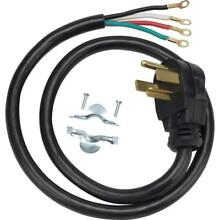 2 Pack  GE 6 ft  4 Prong 30 Amp Dryer Cord