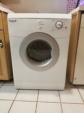 Whirlpool clothes dryer electric  220 Volt  24 wide   15 4 lbs drying capacity