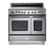 Verona VCLFSEE365DSS 36  Freestanding Range Double Oven Electric Range