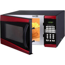 Hamilton Beach   Microwave Oven  Red  Free Shipping  Fits Small Space  New