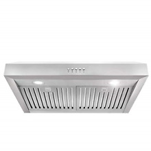Cosmo UC30 30 in Under Cabinet Range Hood 760 CFM Ductless Convertible Duct  LED
