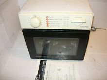Sharp Carousel II Microwave Half Pint R 1M53 With Manual Plate Roller Works