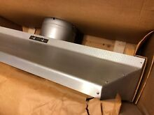 1960 New Old Stock Range Hood 36  Chef Aire STAINLESS STEEL