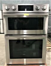 NEW FLEX DUO Samsung 30  Convection Stainless Double Wall Steam Oven NQ70M9770DS