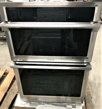 NEW Samsung 30  Combination Microwave Convection Wall Oven NQ70M6650D Stainless