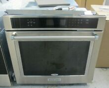 KitchenAid  Stainless Steel Single Electric Wall Oven 30 Inch Model KOSE500ESS