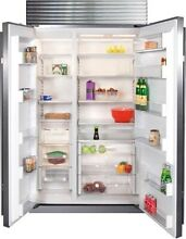 Sub Zero BI 42S S TH 42 Inch Built In Side By Side Refrigerator