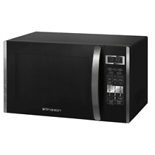 Emerson 1 5 cu  ft  1000 Watt Countertop Convection and Griller Microwave Oven