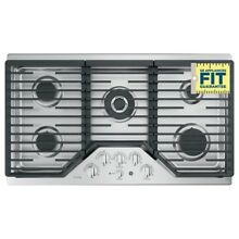 GE PGP 9036SLSS 36  Built In Gas Stainless Steel Cooktop  5 Burners W  Griddle