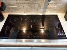 LG Studio LSCE365S Stainless Steel 36 in  Electric Electric Cooktop MSRP  1199