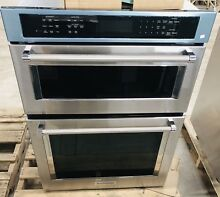 2018 NEW KitchenAid 30  Stainless Built in Microwave Convection Oven KOCE500ESS