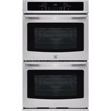 KENMORE 27  STAINLESS STEEL ELECT SELF CLEAN DOUBLE OVEN    56  OFF  2 299 LIST