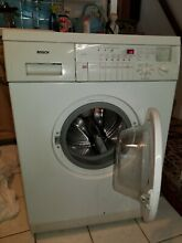 Bosch 220 Volts portable 24  wide operable washer   or  for parts with warranty