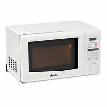 Avanti 0 7 Cubic Foot Capacity Microwave Oven  700 Watts  White