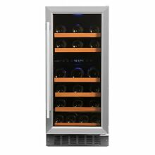Smith   Hanks 32 Bottle Dual Zone Built In or Free Standing Wine Refrigerator