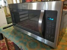 Over The Range Microwave 30  wide 2016 year warranty 6 months