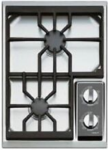 Wolf  CT15GS 15 Inch Gas Cooktop  2 Dual Stacked Sealed Burners  True Simmers  I
