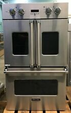Viking Professional Premiere Series VDOF730SS 30  Double French Door Oven