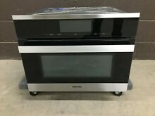 Miele H6800BMSS Speed Wall Oven 24  PureLine M Touch Built In
