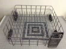 CLEAN Kitchen Aid Dishwasher Lower Bottom Dishwasher Rack W10056271 W10312791