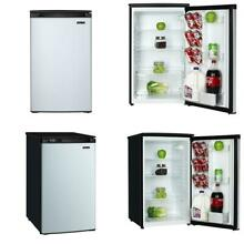 4 4 cu  ft  Mini Fridge with Freezerless Design in Stainless Steel