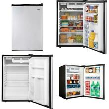 4 5 cu  ft  Mini Fridge in Virtual Steel