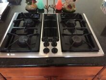 Jenn Air Convertible Gas Grill Downdraft Cooktop