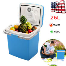 26L Electric Portable Fridge Cooler Warmer Mini Home Office Refrigerator Freezer