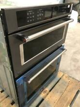 NEW KitchenAid KOCE500EBS Black Stainless Double 30  Microwave Convection Oven