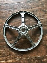 GE Front Load Washer Part   WH07X10022 Washer Drive Pulley