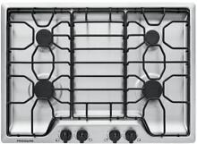 Frigidaire 30  Stainless Steel 4 Burner Gas Cooktop FFGC3012TS LP KIT Included