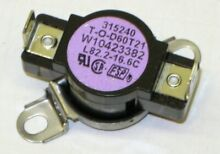 For Whirlpool Dryer Thermal Cutoff Sensor Fuse PB2897406X22X19