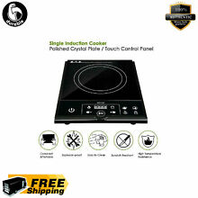 ETL Approved 1800W Electric Induction Cooker Single Portable Burner Cooktop