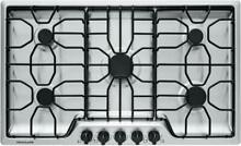 Frigidaire FFGC3612TS 36  Gas Cooktop Stainless Steel LP Kit Included