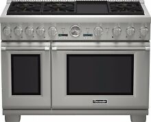 Thermador Pro Grand PRG486JDG 48 Inch Pro Style Gas Range