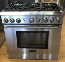Thermador Pro Harmony Professional Series PRG366GH 36 Inch Pro Style Gas Range