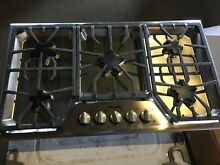 Thermador SGS365FS 04 36  Stainless 5 Burner Gas Cooktop