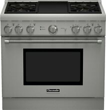 Thermador 36  SS Pro Harmony Gas Range PRG364GDH
