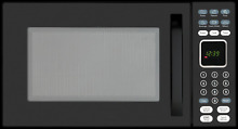 Advent MW912B Black Built in Microwave Oven specially built for RV Recreational