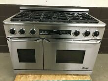Dacor Epicure ERDE48SCH 48  Dual Fuel Professional Range 6 Burner Self Clean