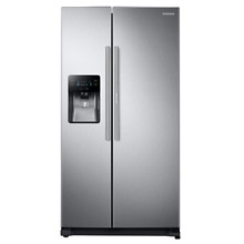 Samsung RH25H5611SR 24 7 cu ft  Side by Side Refrigerator Stainless Steel
