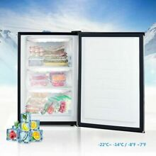Durable 3 cu ft  Compact Upright Freezer w Stainless Steel Door