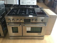 Jenn Air PRO STYLE 48  GAS RANGE WITH GRIDDLE   JGRP548WP