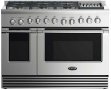 DCS  RGV2486GLN 48 Inch Gas Range  5 3 cu  ft  Convection Oven