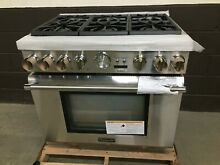Thermador PRG366JG 36  Gas Pro Grand Range 6 Burners Stainless Steel
