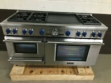 Thermador PRD606RESG 60  Dual Fuel Range PRO 6 Burners Dbl Griddle Steam Oven